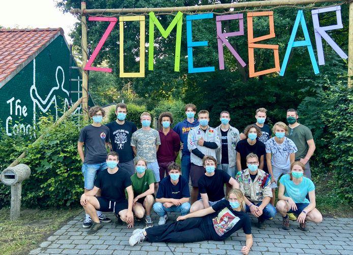 Scouts Zoersel organiseert de komende twee weekends een zomerbar aan hun lokalen op de Doelen