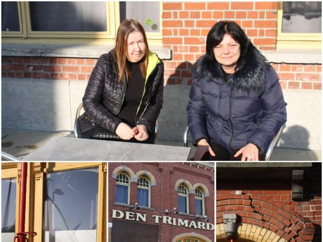 """Net op dag dat nieuwe cafébazin compromis tekent, rijdt automobilist in gevel van Den Trimard: """"Deze tegenslag houdt ons niet tegen"""""""