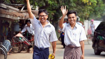 Reuters-journalisten in Myanmar vrijgelaten na meer dan 500 dagen in de cel