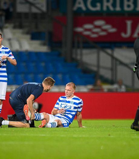 De Graafschap mist zeven spelers tegen Almere City, maar Van Heertum keert terug