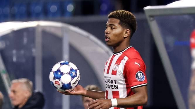 PSV-talent Sambo twijfelt na tegenslag geen miljoenste van een seconde: 'Ik wil dit seizoen mijn rentree nog maken'