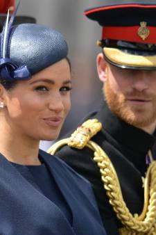 Souriante et détendue, Meghan a attiré tous les regards lors de l'anniversaire de la reine