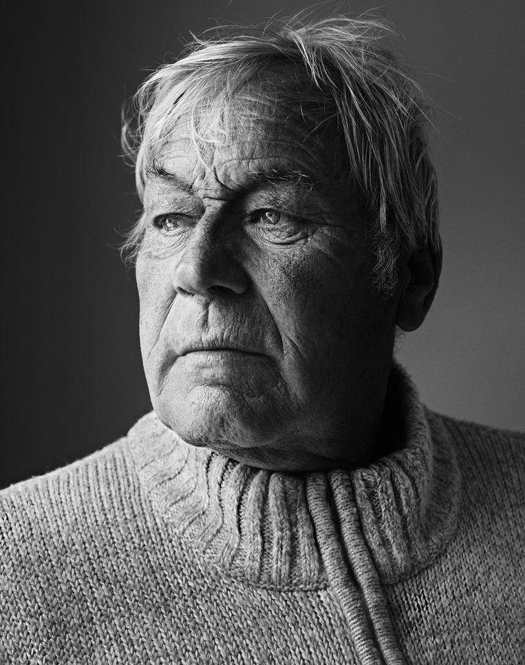 Fernand Preem: 'De dorpspastoor uit Zeebrugge deed ons iedere week een zak aardappelen cadeau en de kolenmarchand had zo met ons te doen dat hij in de winter een zak extra kolen gaf.' Beeld Stephan Vanfleteren