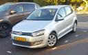 Een vorig jaar januari gestolen Volkswagen Polo die door de politie is teruggevonden.