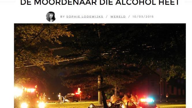 Aangrijpend verhaal over alcohol in het verkeer gaat viraal