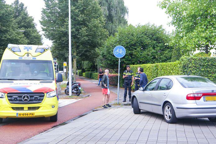 Het ongeval gebeurde rond 15.10 uur op de Liendertseweg.