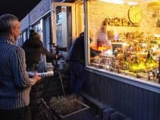 De lente staat voor de deur, maar in deze woning in Amersfoort was het alvast weer even kerst