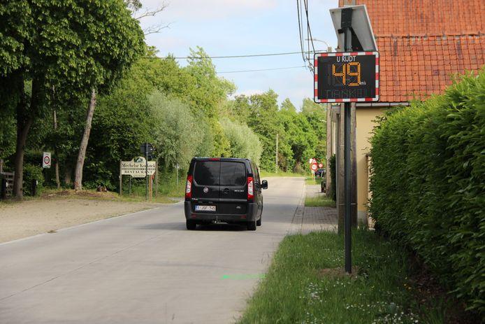 Op de Smarre in Horebeke geldt al een snelheidsbeperking van 50 kilometer per uur.