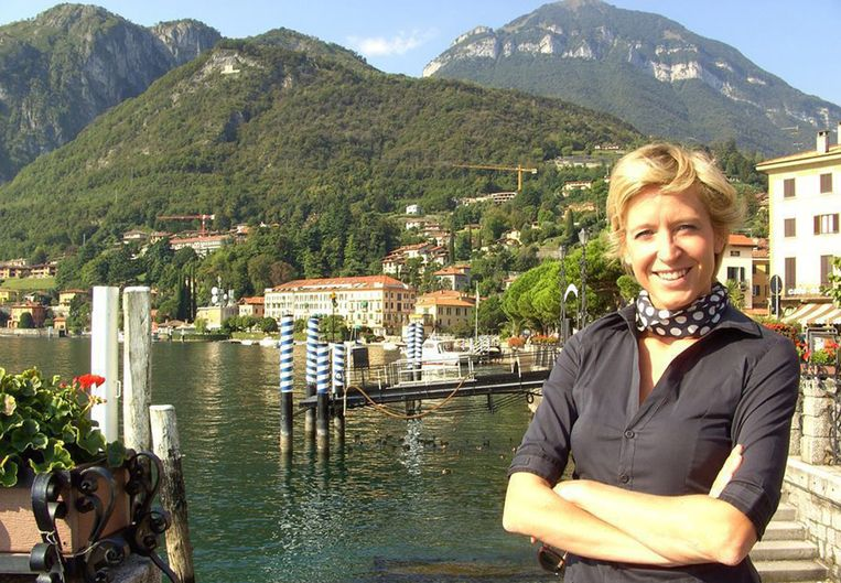Archiefbeeld van Cath Luyten in Italië voor 'Vlaanderen vakantieland'. Beeld © VRT