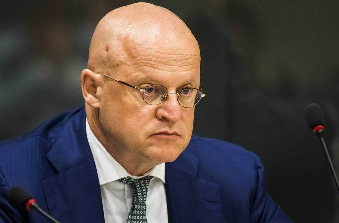 Minister Ferdinand Grapperhaus (Justitie en Veiligheid).