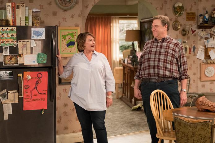 Roseanne Barr en John Goodman