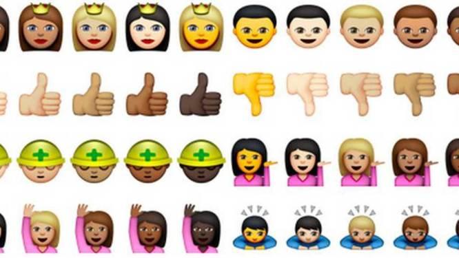 Apple lanceert multiculturele emoji