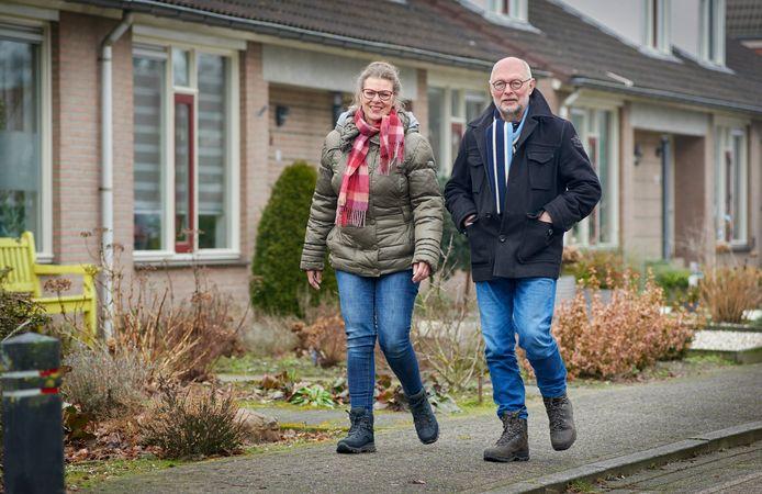 Dinie- en Kees van den Brenk hebben hun horecabedrijf verkocht gaan lopend naar Santiago de Compostella.