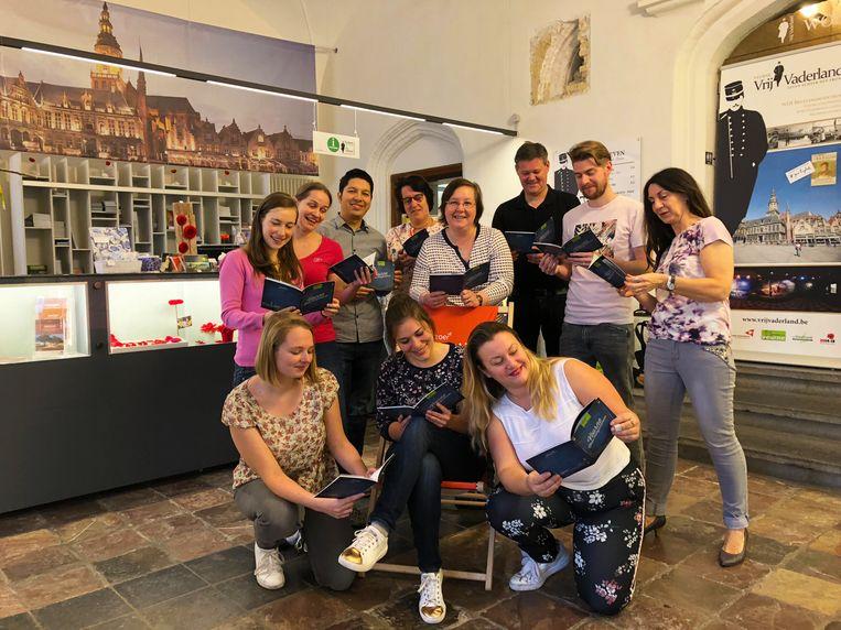Het team achter Visit Veurne