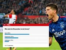 Uitslag poll: Ajax is Feyenoord opnieuw de baas