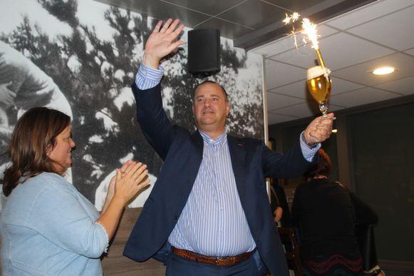 Na succesvolle gemeenteraadsverkiezingen mag Kurt Vanryckeghem nu ook naar het Vlaams parlement.