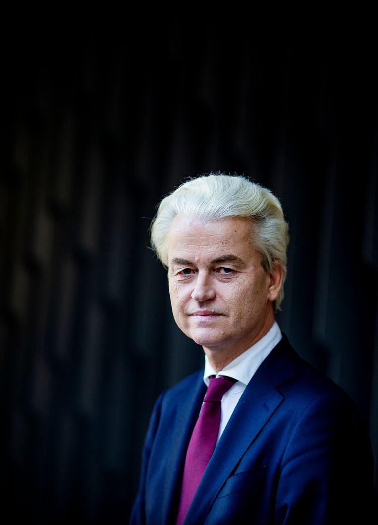 Geert Wilders. Beeld GUUS SCHOONEWILLE