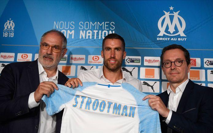 Olympique de Marseille betaalde in 2018 25 miljoen euro voor Strootman.