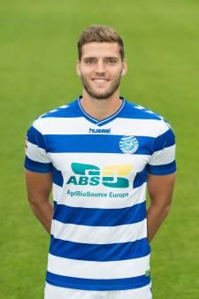 Middenvelder Javier Vet (27) tekent voor één seizoen bij NEC