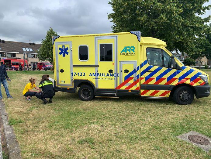 Een kind is woensdagmorgen te water geraakt in Capelle aan den IJssel.
