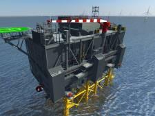 Papendrechtse ingenieurs mogen hun megaklus in de Noordzee zelf afmaken