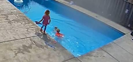 Deux sœurs héroïques sauvent leur petit frère de la noyade