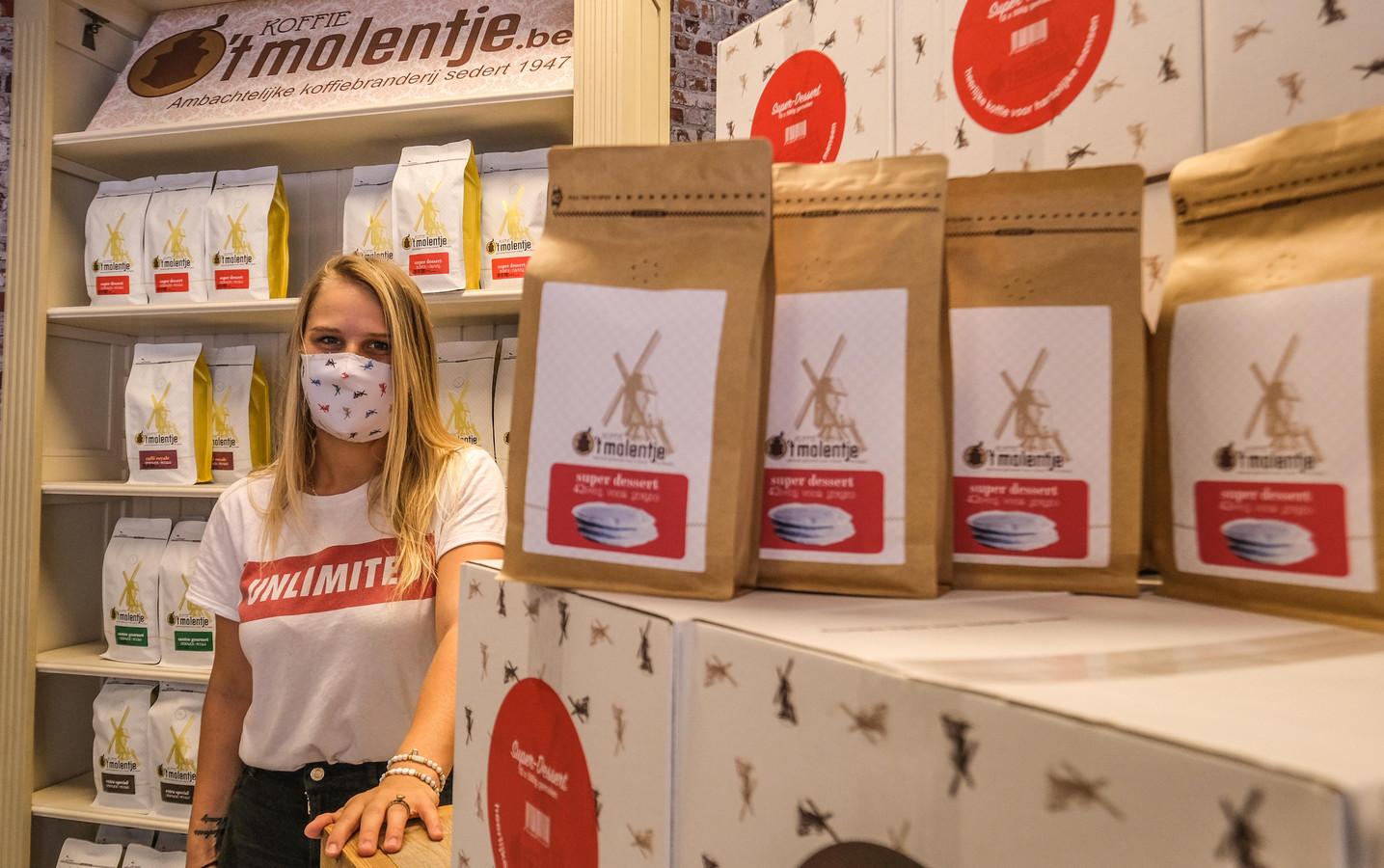Koffie 't Molentje is een van de deelnemers aan de koffiemarkt
