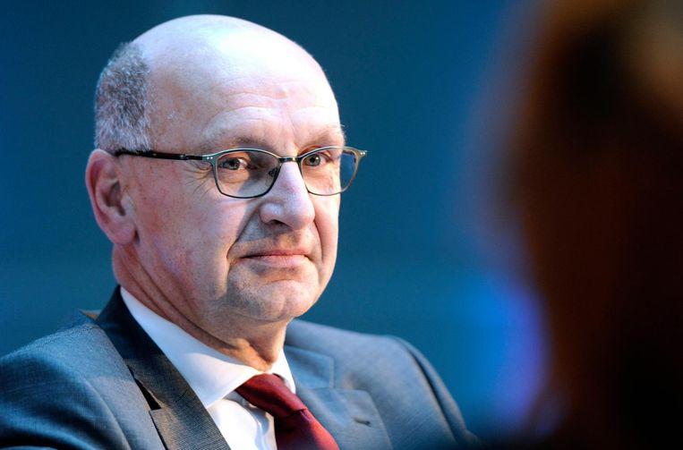 President Leendert Verheij (archieffoto) zegt in een reactie dat zijn bestuurssecretaris 'abusievelijk' had laten weten dat de bijlagen waren ontvangen. Beeld anp