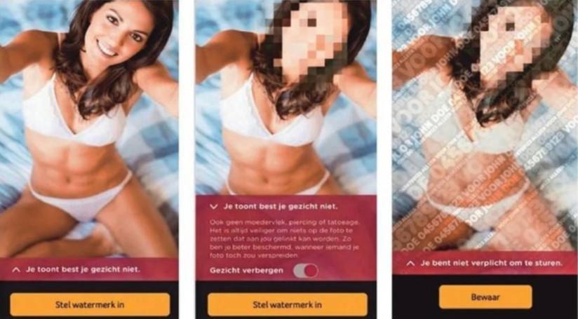 Kan een technologisch hebbedingetje de risico's van sexting inperken? Telenet probeert het met het 'digitaal condoom', een app die moet verhinderen dat seksueel getinte foto's ongewild op de speelplaats of op de werkvloer belanden.