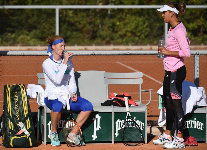 Elise Mertens et Alison Van Uytvanck porteront en grande partie les espoirs du tennis belge dans ces Jeux Olympiques.