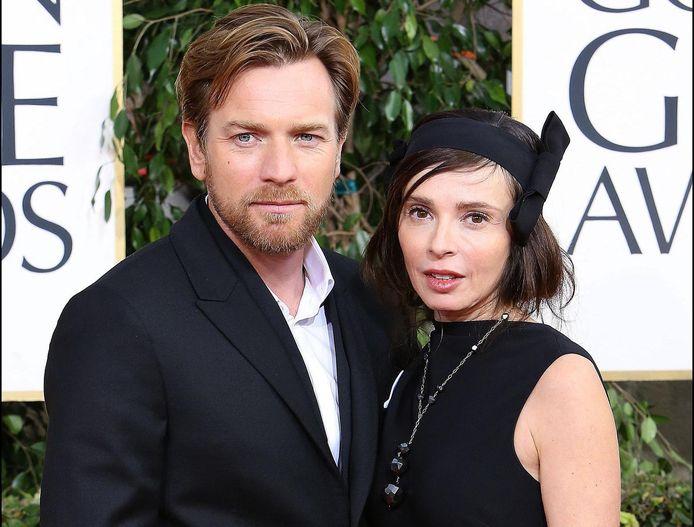 Ewan McGregor en zijn ex-vrouw Eve Mavrakis