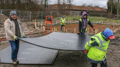 Leerlingen VTI werken mee aan bouw eerste buurthuis
