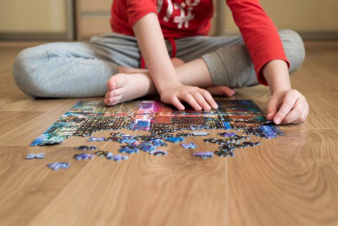 Foto ter illustratie. Een puzzel halverwege laten liggen, is moeilijk voor onze hersenen, weet gedragspsycholoog Chantal van der Leest.