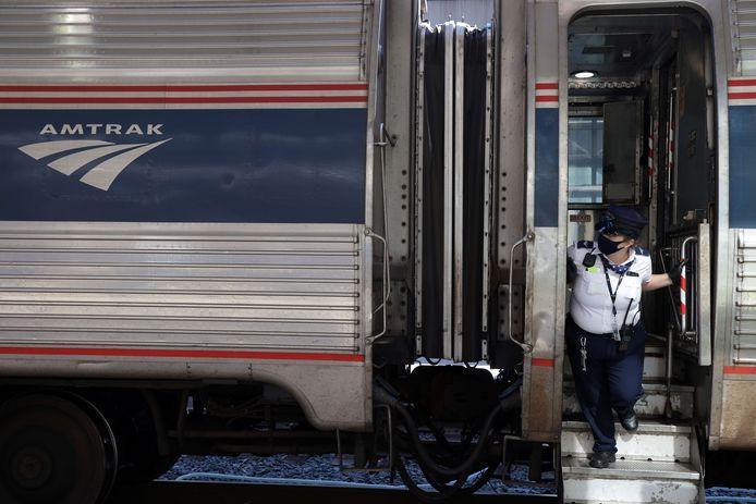 Un train de la compagnie Amtrak (illustration).