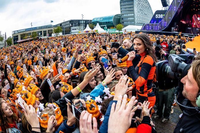 Dit is wat Bredase jongeren onder meer hebben gemist: 538 Koningsdag, zoals de met zangeres Maan.