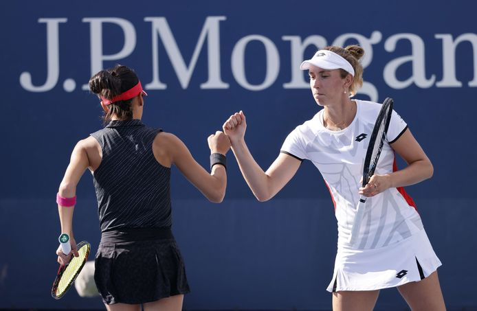 Elise Mertens affrontera deux compatriotes au prochain tour du tournoi de double.