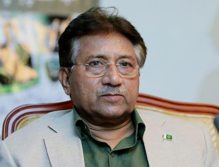 Gaandeweg raakte Musharraf ervan overtuigd dat hij de enige was die Pakistan kon leiden, waardoor tegenstanders en wetten moesten wijken.  Beeld EPA
