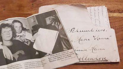 """Liefdesbrief komt na 78 jaar bij juiste ontvanger terecht: """"Ik was in shock"""""""