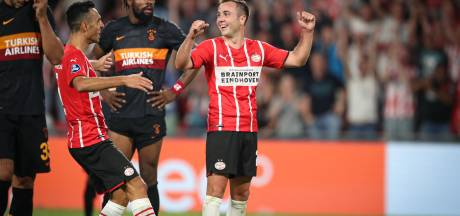Uitstekend PSV heeft niets te duchten van Galatasaray en ziet Champions League iets dichterbij komen