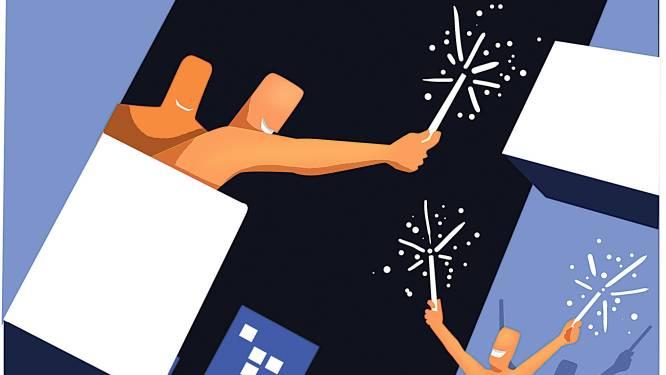 Zo ga je toch knallend het nieuwe jaar in: ga naar een livestreamfeestje of steek ballonnen af