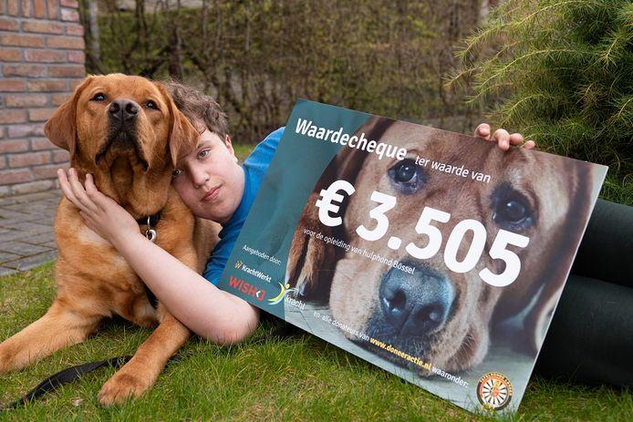 Hessel en zijn hulphond