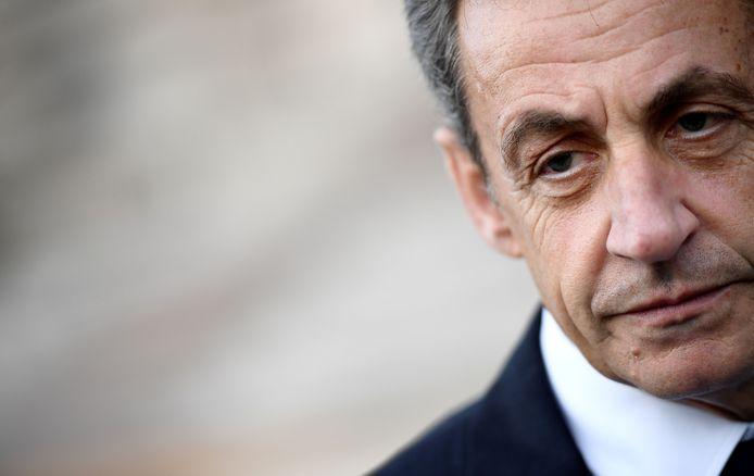 Nicolas Sarkozy en mai 2017.