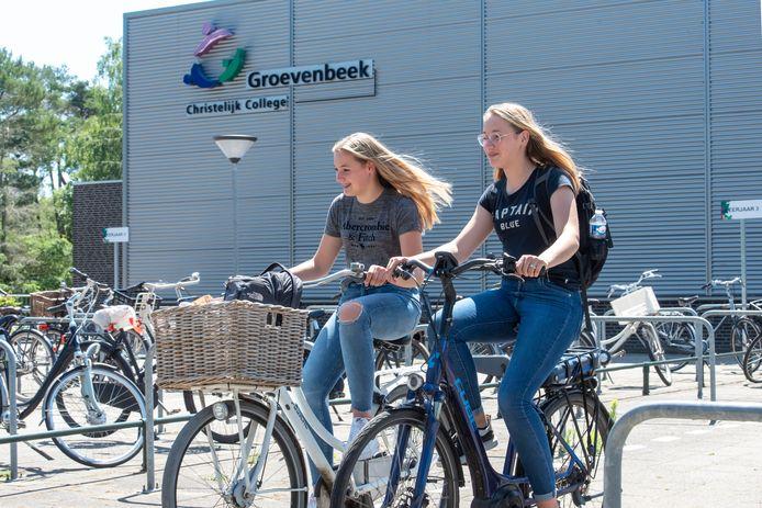 Het Groevenbeek College in Ermelo was in 2018 slachtoffer van een inbraak.