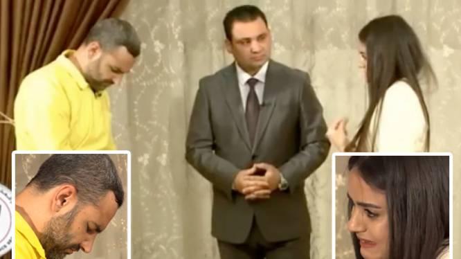 """""""Heb je dan geen gevoelens?"""": vrouw die als seksslavin gebruikt werd door IS-strijder confronteert aanrander op tv"""