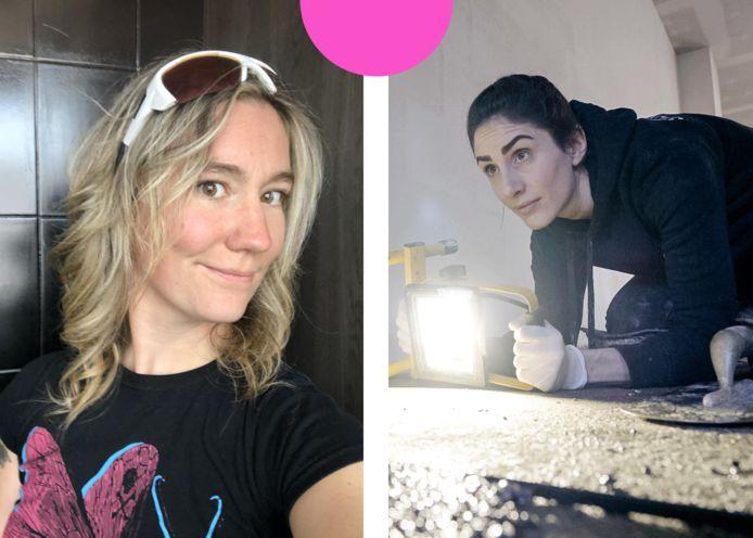 Jessica Leyne (31) en Jolien Boonen (29).