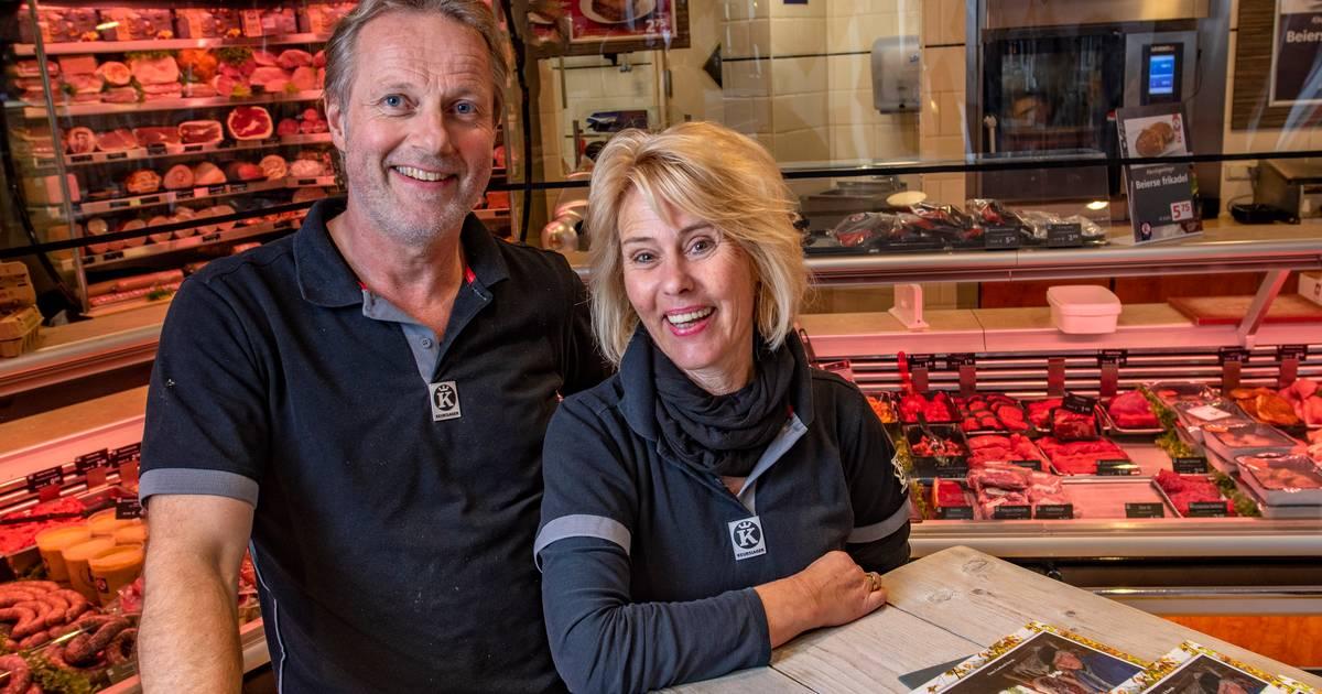 Slager Geert uit Holten werkte helaas nooit samen met zijn vader, maar stichtte toch een familiebedrijf