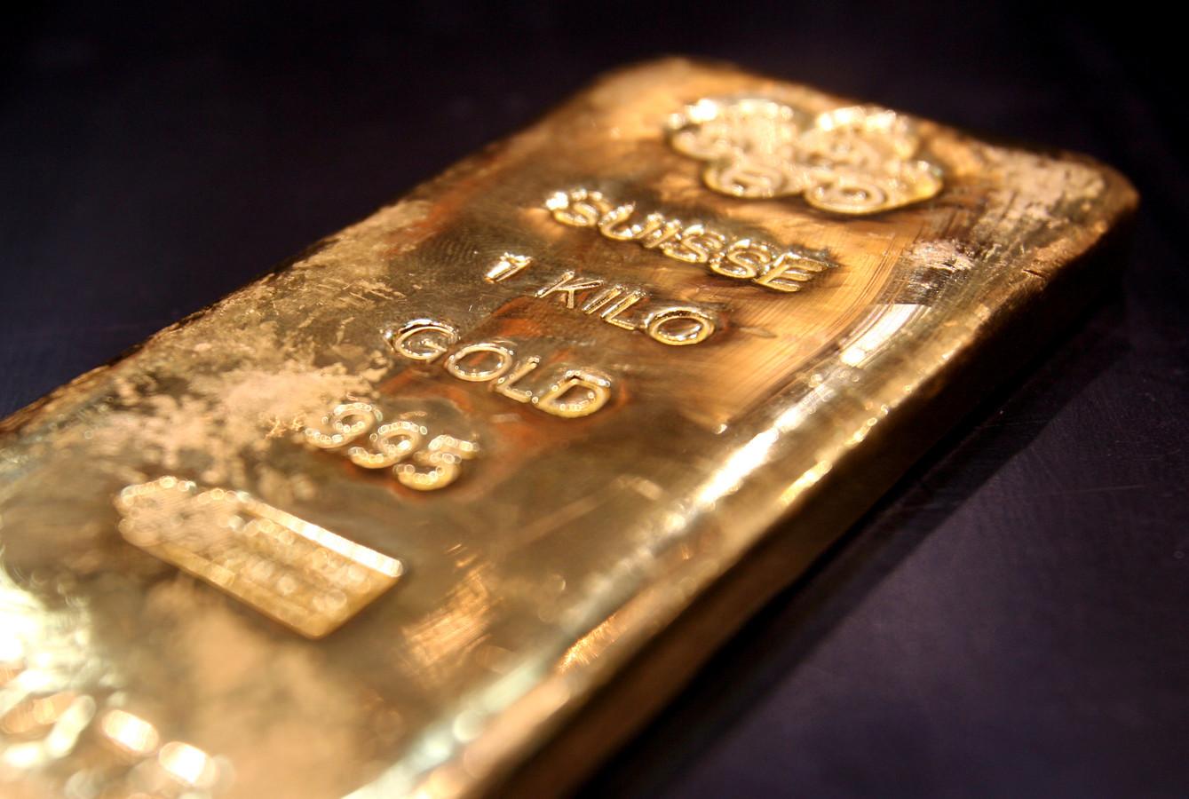 Eén kilo goud (illustratiebeeld).