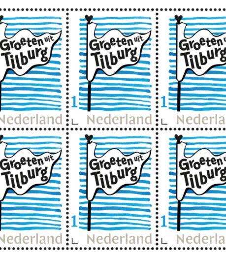 'Tilburg als vakantiestad' begint met een postzegel