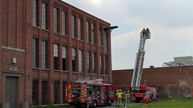 Brand in appartementsgebouw tijdens installatie van airco