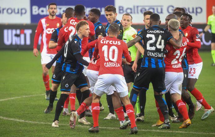 De uitschakeling tegen Standard zorgde voor een heet standje in Luik.